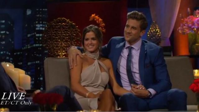 Misha Collection Triviata Dress outfit worn by JoJo Fletcher in The Bachelorette (S12E12) - TV Show Outfits and Products