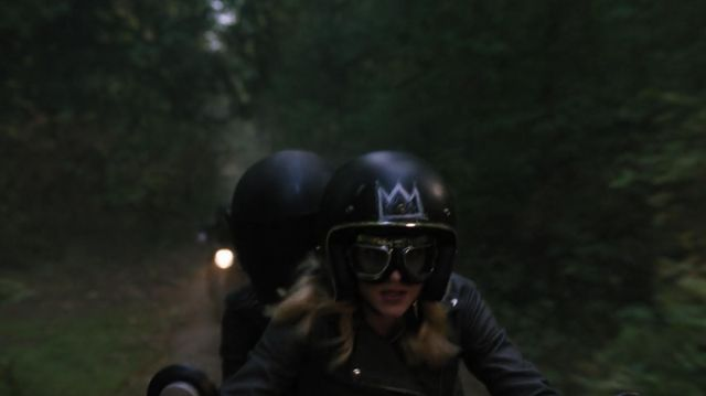 Motorcycle goggles outfit worn by Betty Cooper (Lili Reinhart) seen in Riverdale Season 3 Episode 5