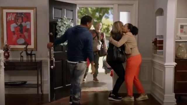 Msgm Long Sleeve Ruffle Pullover outfit worn by Rainbow Johnson (Tracee Ellis Ross) in black-ish (Season 03 Episode 10) - TV Show Outfits and Products