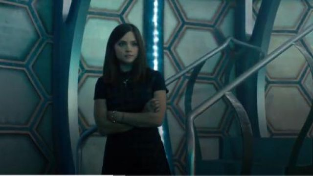 NW3 Elm dress outfit seen on Clara (Jenna Coleman) in Doctor Who (S07E13) (S07E13) - TV Show Outfits and Products