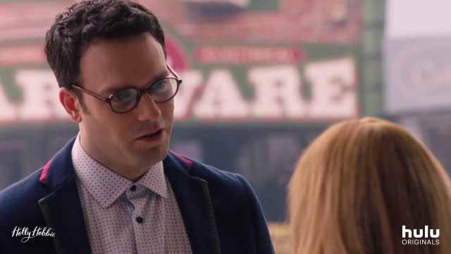 Navy Blue Blazer Jacket outfit worn by Jason Ryan Reeves (Jake Epstein) in Holly Hobbie - TV Show Outfits and Products