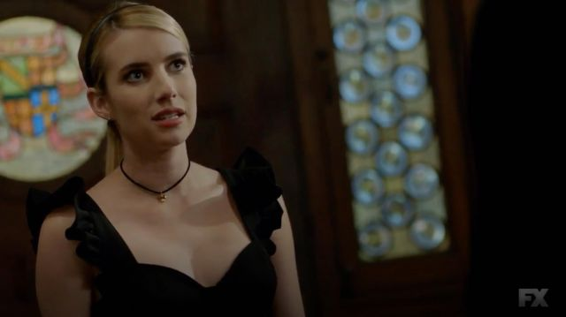 Necklace outfit worn by Madison Montgomery (Emma Roberts) seen in American Horror Story Season 8 Episode 6 - TV Show Outfits and Products