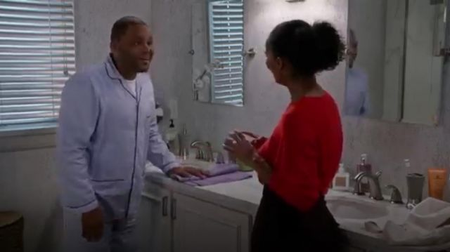 Neiman Marcus Striped Pajama Set outfit worn by Jack Johnson (Miles Brown) in black-ish (Season01 Episode18) - TV Show Outfits and Products