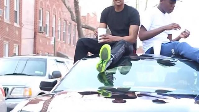 Nike shoes Foamposite in the video Hot N*gga Bobby Shmurda - Youtube Outfits and Products