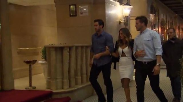 Noam Hanoch Fabienne Dress outfit worn by JoJo Fletcher in The Bachelorette (S12E06) - TV Show Outfits and Products
