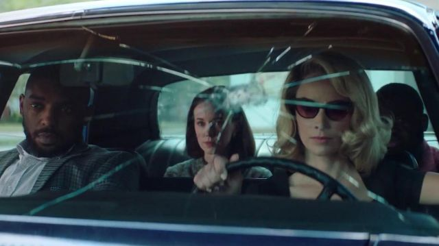 Oliver Peoples Marianela sunglasses outfit worn by Doris Dearie (Abigail Spencer) in Reprisal (S01) - TV Show Outfits and Products
