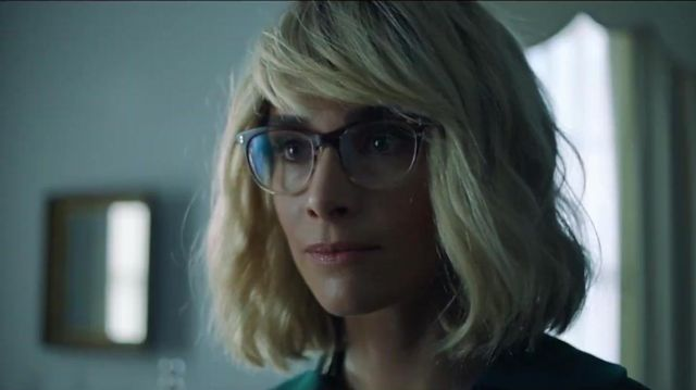 Oliver Peoples eyeglasses outfit worn by Doris Dearie (Abigail Spencer) in Reprisal (S01) - TV Show Outfits and Products