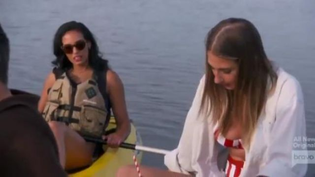 Onia Lydia Bikini outfit worn by Amanda Batula in Summer House (Season 03 Episode 13) - TV Show Outfits and Products