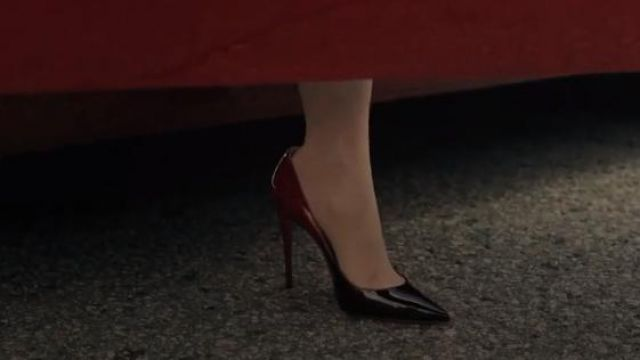Oxblood Heels Pumps outfit worn by Cheryl Blossom (Madelaine Petsch) in Riverdale Season 4 Episode 1 - TV Show Outfits and Products