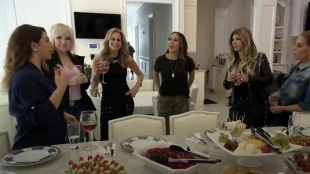 Paige Edgemont Ultra Skinny Jeans outfit worn by Jackie Goldschneider in The Real Housewives of New Jersey (S09E05)