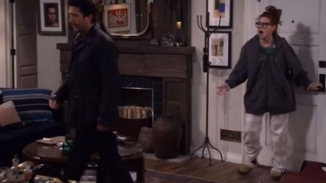 Pants pijamas of Grace Adler (Debra Messing) on Will & Grace (Season 2 Episode 3) - TV Show Outfits and Products