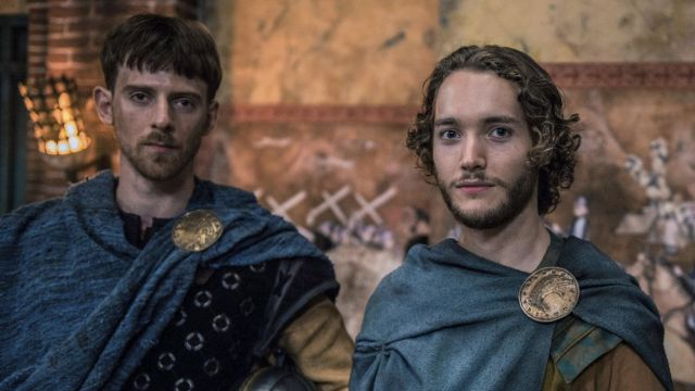 Pin wild boar of Aethelred (Toby Regbo) seen in The Last Kingdom Season 2 Episode 3 - TV Show Outfits and Products