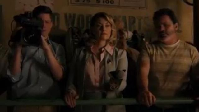 Pink London Jamie Starfish Shirt outfit worn by Alice Cooper (Mädchen Amick) in Riverdale Season 4 Episode 5 - TV Show Outfits and Products