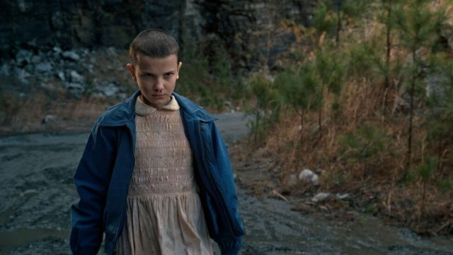 Fashion Trends 2021: Pink dress of Eleven (Millie Bobby Brown) seen in Stranger Things Season 1 Episode 5