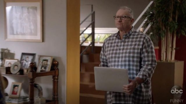 Plaid Shirt outfit worn by Jay Pritchett (Ed O'Neill) as seen in Modern Family S10E12 - TV Show Outfits and Products
