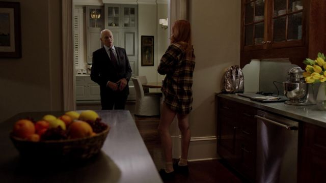 Plaid shirt Urban Outfitters outfit worn by Kirby Anders (Maddison Brown) seen in Dynasty Season 2 Episode 4 - TV Show Outfits and Products