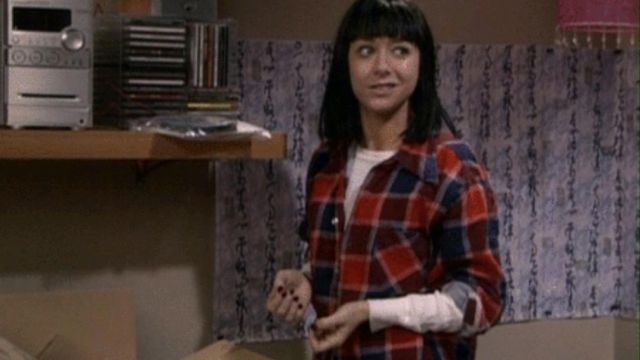 Fashion Trends 2021: Plaid shirt of Lily Aldrin (Alyson Hannigan) to the university in How I met your mother