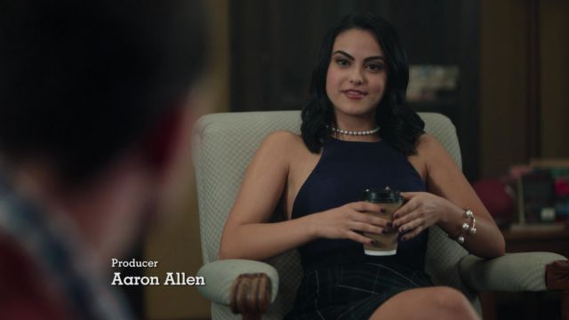 Fashion Trends 2021: Plaid skirt of Veronica Lodge (Camila Mendes) seen in Riverdale Season 1 Episode 3