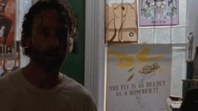 """Post retro WWII """"The Fly is a deadly as a bomber in"""" The Walking Dead Season 4E11 - TV Show Outfits and Products"""
