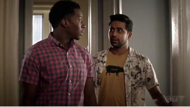 Prana Road Hog Journeyman Tee outfit worn by Rakesh (Suraj Sharma) in God Friended Me Season 2 Episode 2 - TV Show Outfits and Products