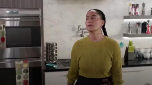 Rachel Comey Benson Top outfit worn by Rainbow Johnson (Tracee Ellis Ross) in black-ish Season 6 Episode 7 - TV Show Outfits and Products