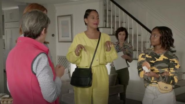 Rachel Comey Holt jumpsuit outfit worn by Rainbow Johnson (Tracee Ellis Ross) in black-ish Season 6 Episode 3 - TV Show Outfits and Products