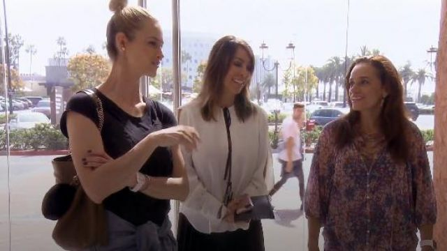 Rachel Comey Meryl Blouse outfit worn by Kelly Dodd in The Real Housewives of Orange County (S12E09)
