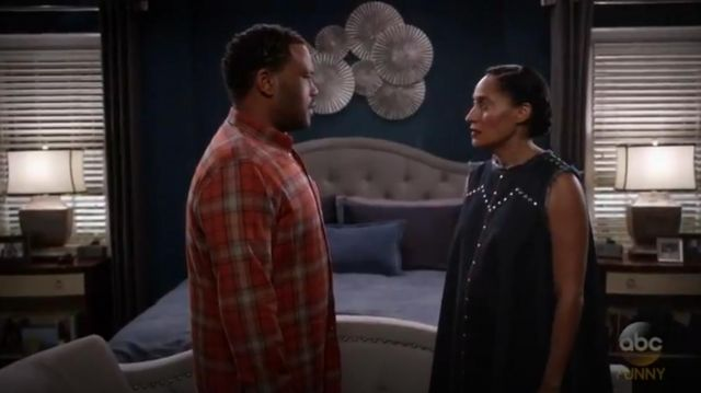 Rachel Comey Short Chronicle Dress outfit worn by Rainbow Johnson (Tracee Ellis Ross) in black-ish (Season 03 Episode 11) - TV Show Outfits and Products