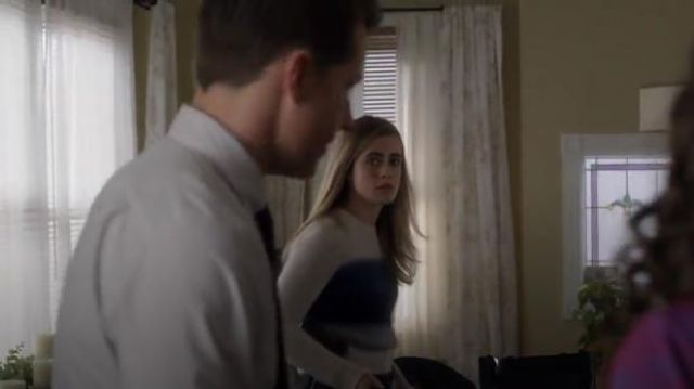 Rag & Bone Holland Sweater outfit worn by Michaela Stone (Melissa Roxburgh) in Manifest (Season01 Episode08) - TV Show Outfits and Products