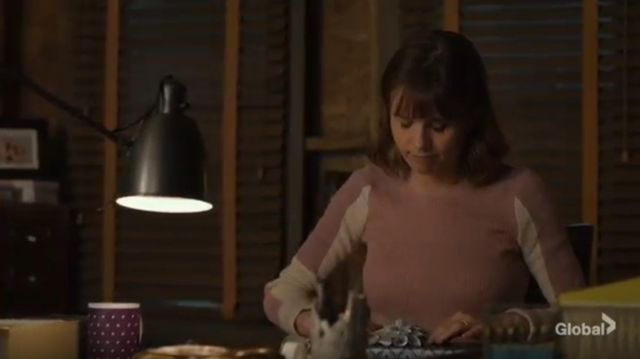 Rag & bone Tia Contrast Panel Sweater outfit worn by Kristen Bouchard (Katja Herbers) in Evil Season 01 Episode 06 - TV Show Outfits and Products