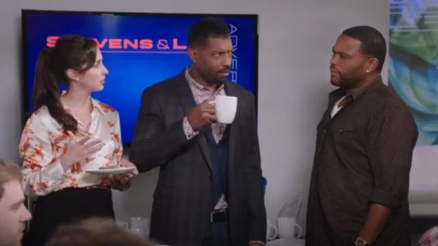 Ralph Lauren Black Label Western Shirt outfit worn by Andre 'Dre' Johnson (Anthony Anderson) in black-ish (S02E09) - TV Show Outfits and Products