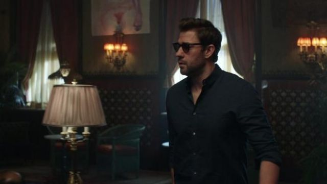 Ray-Ban Sunglasses outfit worn by Jack Ryan (John Krasinski) as seen in Tom Clancy's Jack Ryan (S02E01) - TV Show Outfits and Products