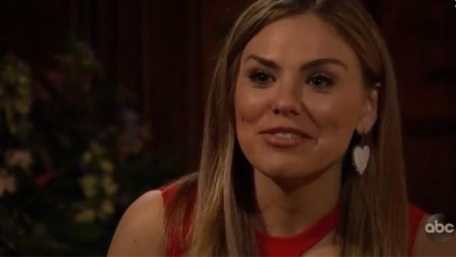Red Cutout Dress outfit worn by Hannah Brown in The Bachelorette (Season15 Episode05) - TV Show Outfits and Products