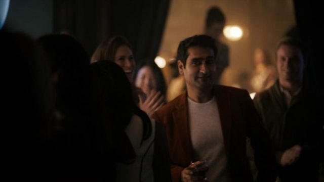 Red Suit Jacket outfit worn by Samir Wassan (Kumail Nanjiani) in The Twilight Zone (S01E01) - TV Show Outfits and Products