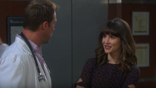 Reformation Amsterdam Dress outfit worn by Linsey Godfrey as seen on Days of Our Lives May 14, 2019 - TV Show Outfits and Products