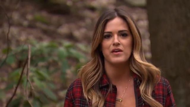Robin Rhodes Alicia Necklace outfit worn by JoJo Fletcher in The Bachelorette (S12E04) - TV Show Outfits and Products