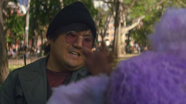 Round sunglasses from Calvin (Marcus Toji) seen in Maniac Season 1 Episode 2 - TV Show Outfits and Products