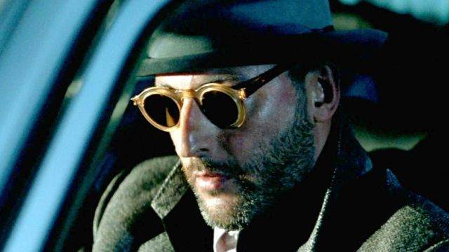 Round sunglasses of Victor (Jean Reno) seen in Nikita - TV Show Outfits and Products