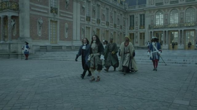 Fashion Trends 2021: Royal court of the palace of Versailles in Versailles Season 1 Episode 3