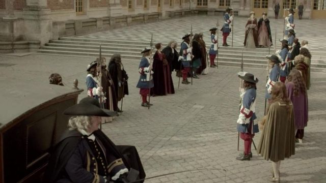 Fashion Trends 2021: Royal court of the palace of Versailles in Versailles Season 1 Episode 8
