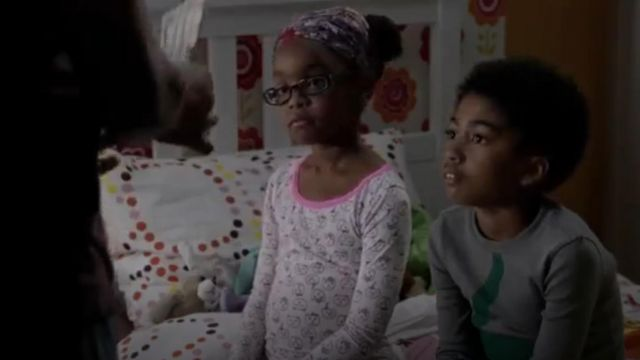 Ruby & Bloom Fitted Two Piece Pajamas outfit worn by Diane Johnson (Marsai Martin) in black-ish (S01E09) - TV Show Outfits and Products