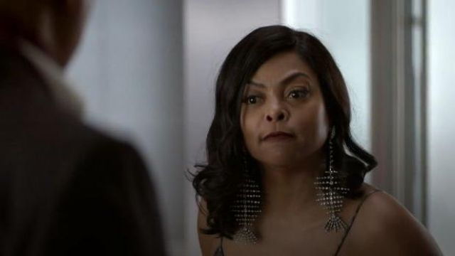 Saint Laurent Fish Embellished Earrings outfit worn by Cookie Lyon (Taraji P. Henson) in Empire Season 06 Episode 05 - TV Show Outfits and Products
