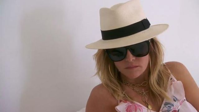 Saint Laurent Flat Top Square Sunglasses outfit worn by Tinsley Mortimer in The Real Housewives of New York City (S11E15) - TV Show Outfits and Products