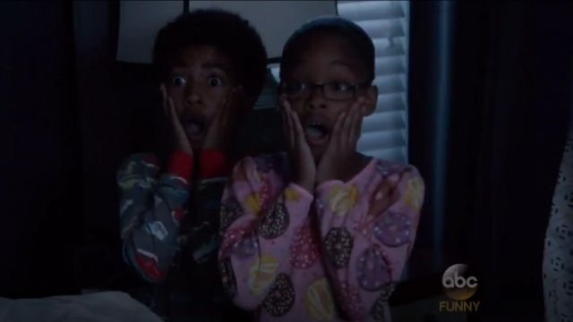 Sara's Prints Little Girls Cotton Puffed Sleeve Gown outfit worn by Diane Johnson (Marsai Martin) in black-ish (S02E02) - TV Show Outfits and Products