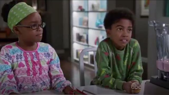 Sara's Prints Unisex Baby Classic Two Piece Long Pajamas outfit worn by Jack Johnson (Miles Brown) in black-ish (S01E21) - TV Show Outfits and Products