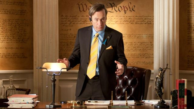 Fashion Trends 2021: Scales of justice, office of Saul Goodman (Bob Odenkirk) on Breaking Bad