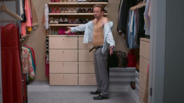 Sheath compression Bob Armstrong (Dallas Roberts) seen in Insatiable (Season 1 Episode 2) - TV Show Outfits and Products
