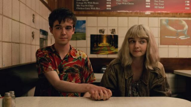 Fashion Trends 2021: Shirt hawaiian James (Alex Lawther) seen in The End of the F***ing World Season 1 Episode 5