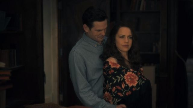 Shirt of Young Hugh Crain (Henry Thomas) seen in The Haunting of Hill House (Season 1 Episode 4) - TV Show Outfits and Products