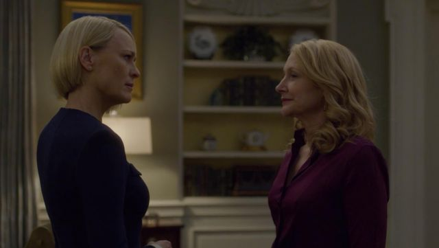 Shirt outfit worn by Jane Davis (Patricia Clarkson) seen in House of Cards Season 6 Episode 3 - TV Show Outfits and Products